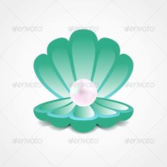 clam shell with pearl Stencil Designs - WOW.com - Image Results