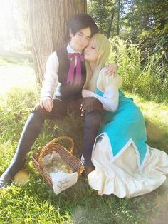 http://princessnia.tumblr.com/ otp perfect couple Jonathan Joestar Jojo's Bizarre Adventure Cosplay Cute http://psychedelicpaprika.tumblr.com/ phantom blood Erina Pendleton