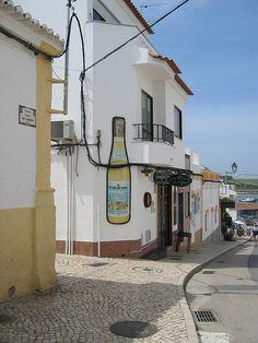 Alvor Street, Faro, Portugal Alvor Portugal, Faro Portugal, Places In Portugal, Cities In Europe, Algarve, Places Ive Been, Beautiful Places, Ocean, Explore