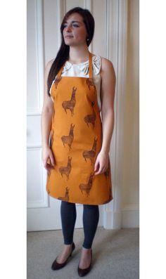 Who doesn't need a llama apron?