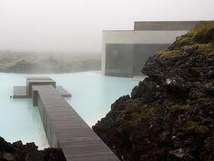 Icelandic thermal spa