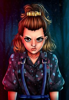 Stranger Things Eleven by Paula Ribeiro pandory_art Millie Bobby Brown Season 3 fanart fan art Stranger Things Tumblr, Stranger Things Characters, Bobby Brown Stranger Things, Stranger Things Have Happened, Stranger Things Quote, Stranger Things Aesthetic, Eleven Stranger Things, Stranger Things Netflix, Stranger Things Season