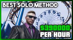 The BEST Way to Make Money in GTA Online for SOLO Players | $390,000 Per Hour | #MoneyGuide - WATCH VIDEO here -> http://makeextramoneyonline.org/the-best-way-to-make-money-in-gta-online-for-solo-players-390000-per-hour-moneyguide/ -    tips on how to earn cash online  In today's video I discuss the ULTIMATE solo money making method in GTA Online. It turns out a combination of a few other methods that I've talked about in past videos can be utilized in order to ma