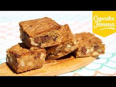 How to make the perfect Blondies | Cupcake Jemma - YouTube