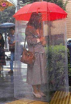 Invention japonaise - Le parapluie