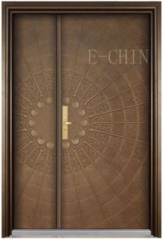 Are you looking for the best wooden doors for your home that suits perfectly? Then come and see our new content Wooden Main Door Design Ideas. Modern Entrance Door, Main Entrance Door Design, Entrance Doors, Modern Door, Wooden Front Door Design, Wooden Front Doors, Metal Doors, Door Design Interior, Bedroom Door Design
