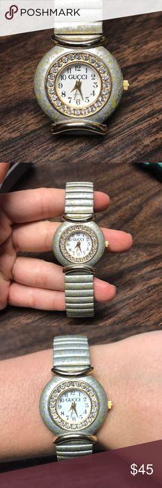 Vintage Gucci Watch Stainless steel Quartz Vintage Gucci Accessories Watches
