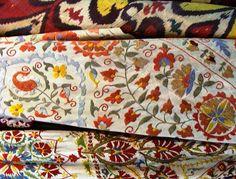 Turkish Textiles - pattern inspiration