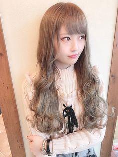 【Euphoria/JUN】小顔バングのピンクグレージュ☆ Style, Stylus