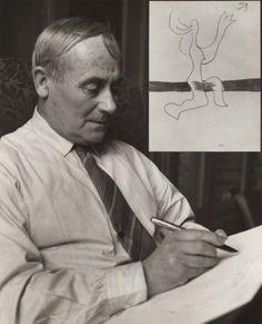 Joan Miró by Ida Kar, 1954