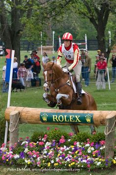 Rolex Kentucky Three Day Event. I've never missed one and hope I never do.  Love. It.
