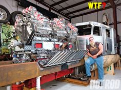 Supercharged 24 Cylinder Engine - Mike Harrah's Outrageous 1,704ci Truck Engine - Hot Rod Network