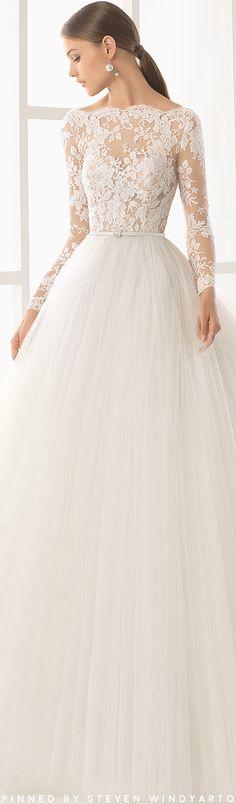 Niher - 2017 Bridal Collection. Rosa Clará. Rosa Clara 2018Puffy Wedding  DressesWedding GownsLace ... 6b391212482f