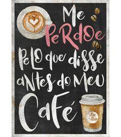 Arte ANTES DO CAFé de By Aline Albino   Disponível em camiseta, poster, almofada e caneca. Só na @toutsbrasil