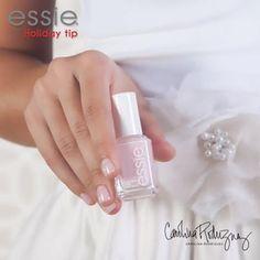 Carolina Rodriguez silk flowers sash and skirt & Essie's 'vanity fairest' nail polish