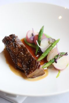 Beef & Asparagus - Autumn in Eleonore's Restaurant