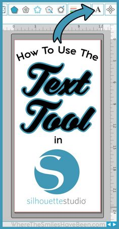 Everything you've wanted to know about how to use the Text Tool in Silhouette Studio! Learn the basics of adding text as well as how to jazz up any design!