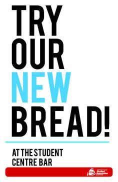 New #bread in the Student Centre! #CCSAI