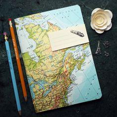 Reise-Geschenk REISETAGEBUCH Kanada New York Quebec