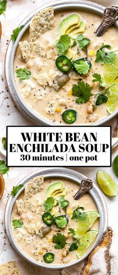 Tasty Vegetarian Recipes, Vegetarian Recipes Dinner, Mexican Food Recipes, Veggie Recipes, Whole Food Recipes, Cooking Recipes, Healthy Recipes, Easy Vegitarian Dinner Recipes, Vegetarian White Chili Recipe