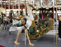 Greenfield Village carousel animals - Google Search