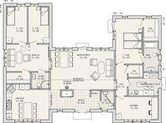 Entréplan 166 m2 spegelvänd