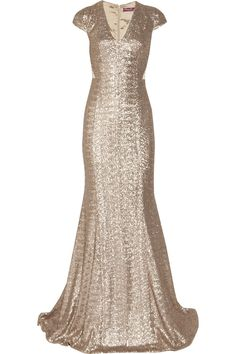 Aphrodite sequined fishtail dress by Project D