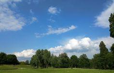 Himmel über dem Südpark