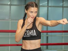 This is Adriana Lima's Victoria's Secret Fashion Show Workout What Is It: Aerobox, a cardio-toning combo created by Adriana Lima's longtime trainer, Michael Olajide, Jr. of Aerospace High Performance Center in N.Y. http://people.com/style/we-tried-it-adriana-limas-victorias-secret-fashion-show-workout-boxing-jump-rope/