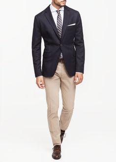 Smart casual. Fridays. Summer wedding guest. Americana premium lana coderas - Hombre | OUTLET