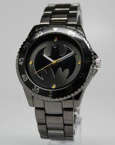 Batman Watch (BAT8009) Price: $45.00 I know my husband will want this.