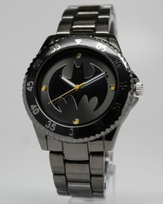 Batman Watch (BAT8009) Price: $45.00 OMG I want this.