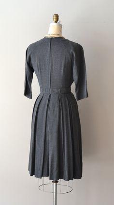 Bonne foi robe gris des années 1950 vintage années par DearGolden