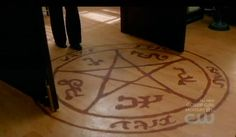 Maybe pull inspiration from the show, and have a devils trap dance floor?
