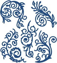 Tattered Lace Dies - Florentine Flourish