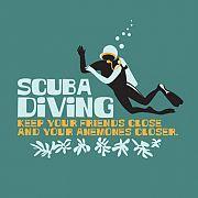 Scuba diving.....keep your friends close and your anemones closer ha ha ha ha ha