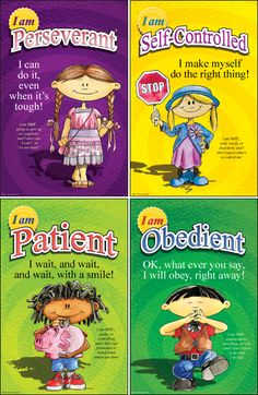 The Kids of VirtueVille Mini Posters. Keep the inspiration and motivation in front of your student's eyes at all times with these 12 bright and colorful posters featuring the multi-ethnic Kids of Virt