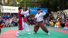 택견배틀 2015 특별시연 - 옛법택견 Yetbeop Taekyun