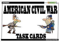 American Civil War Task Cards