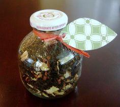 Homemade Black Apple Tea Mix ~ Perfect for gift giving #tea
