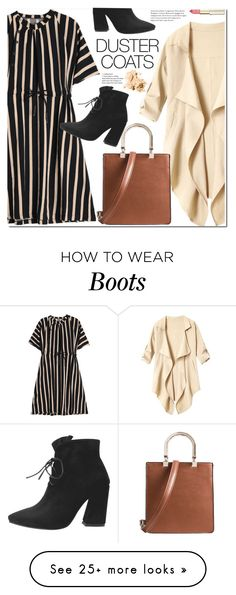 """Long Layers: Duster Coats"" by duma-duma on Polyvore featuring Bobbi Brown Cosmetics and DusterCoats"