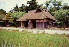 House of Japanese rice farmer Japanese Farmer, Japanese Rice, Niigata, Beautiful Homes, Shed, Traditional, House Styles, Inspiration, Image