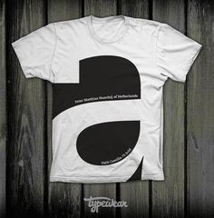Typographic T-Shirt Design This is the right t-shirt for all design and type addicts. T-shirt design by Typewear. Shirt Print Design, Tee Design, T Shirt Graphic Design, T Shirt Print, Simple Shirt Design, Creative T Shirt Design, Design Art, Logo Typo, Patron T Shirt