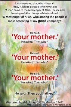 Mothers in Islam