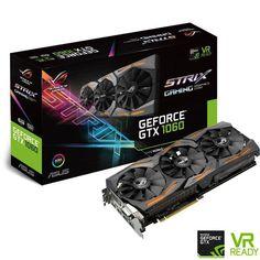 ASUS GeForce GTX 1060 ROG STRIX 6G Gaming GDDR5, ROG STRIX-GTX1060-6G-GAMING…