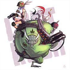 LET'S ROCK by deadslug.deviantart.com on @deviantART