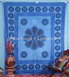 Tapestry Wall Hanging Hippie Tapestries Wall by Labhanshi on Etsy, $21.99