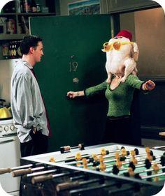 Monica + Chandler Thanksgiving