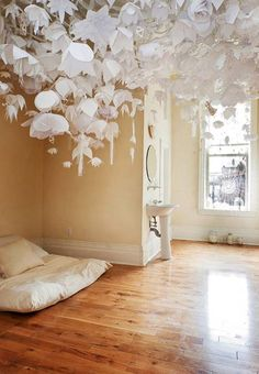 20 Paper Interior Design Ideas and Paper Crafts Reflecting Latest Trends in Decorating