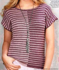 Пуловер с короткими рукавами от Anniken Allis
